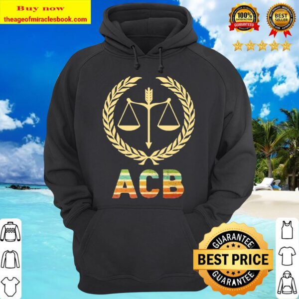 Amy Coney Barrett Associate Justice Logo Hoodie
