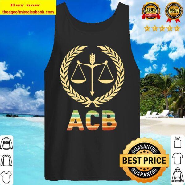 Amy Coney Barrett Associate Justice Logo Tank Top