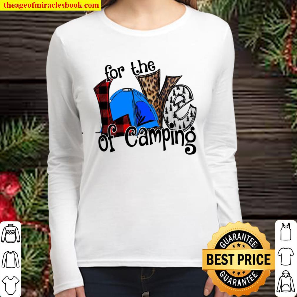 For The Love Of Camping Women Long Sleeved