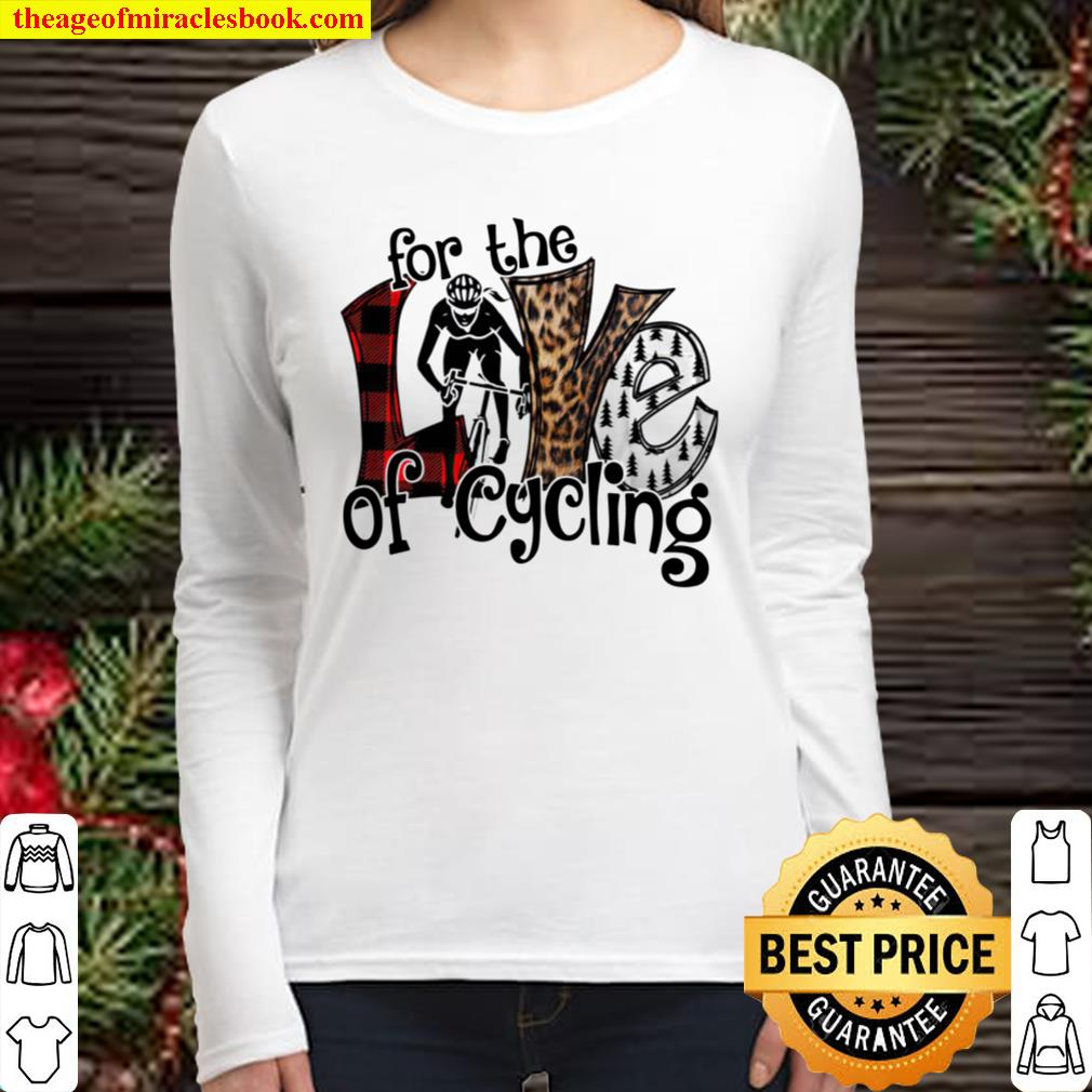 For The Love Of Cycling Women Long Sleeved