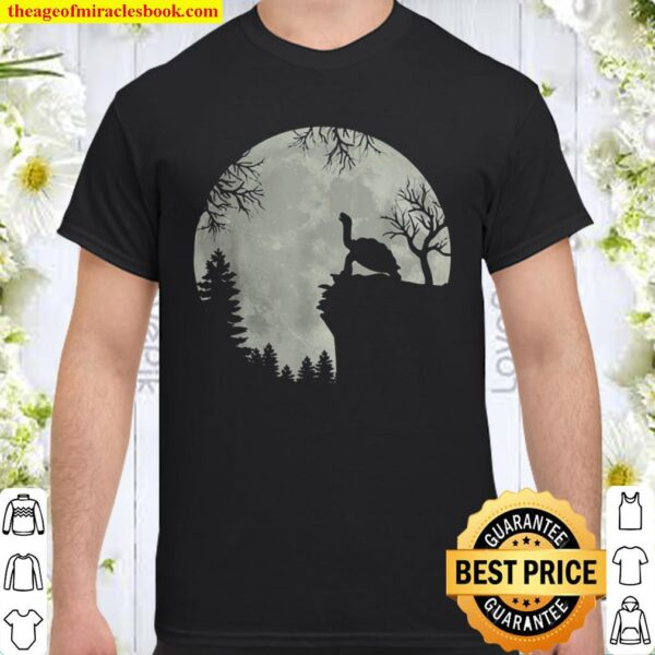 Green sea turtle ocean turtle howling forest moon mountain Shirt