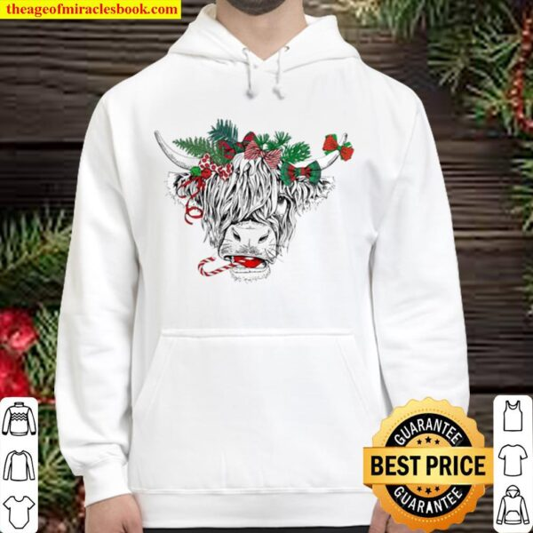 Horse Ornament Christmas. Hoodie