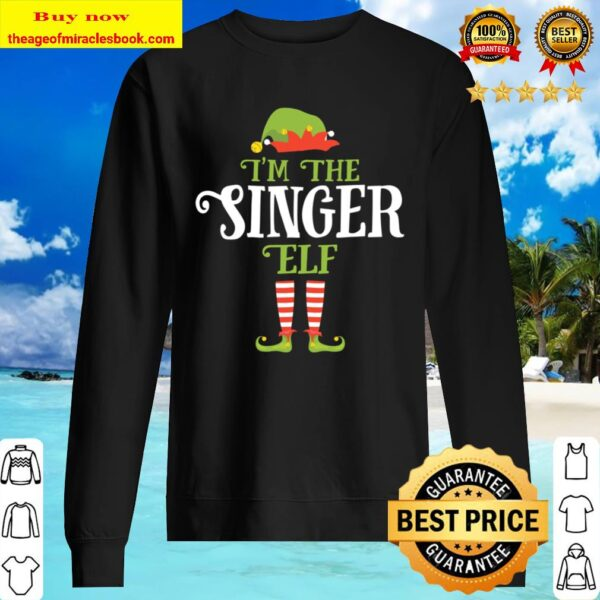 I_m The Singer Elf Christmas Gift Idea Xmas Family Sweater