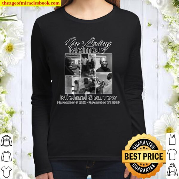 In Memory of my Michael Sparrow Women Long Sleeved