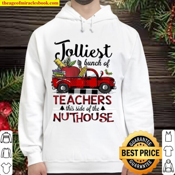 Jolliest bunch of teachers this side of the Nuthouse Hoodie