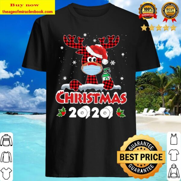 Matching Family Christmas 2020 Gifts Rudolph Reind Shirt