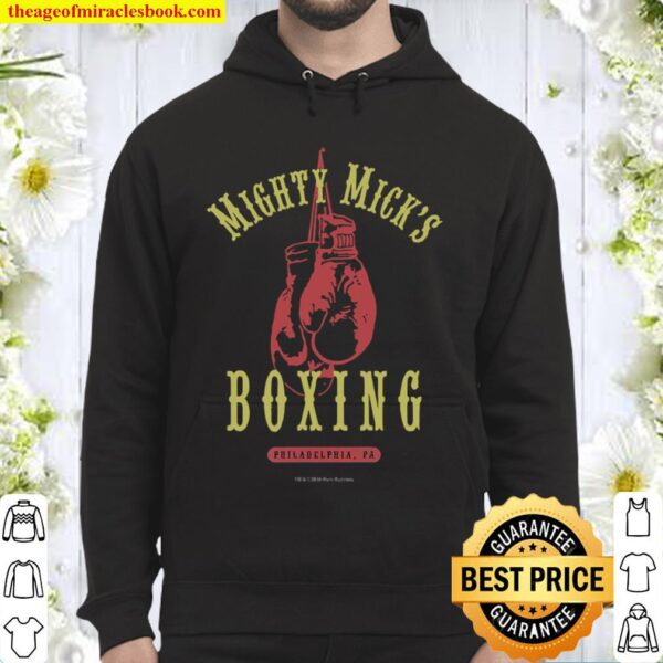 Mighty Mick's Boxing Gym Vintage Distressed and Faded Hoodie