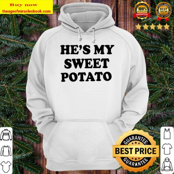Mommy and Me Thanksgiving Shirts - He_s My Sweet Potato, I Yam, Women, Hoodie