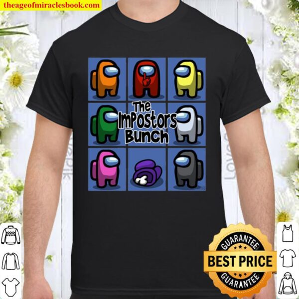 Official Among Us The Impostors Bunch Shirt