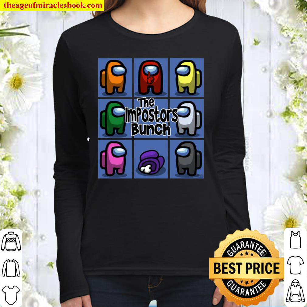 Official Among Us The Impostors Bunch Women Long Sleeved