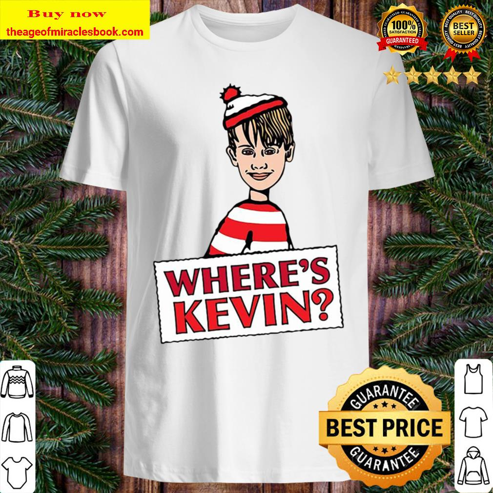 Official Where's Kevin Merry Christmas Shirt