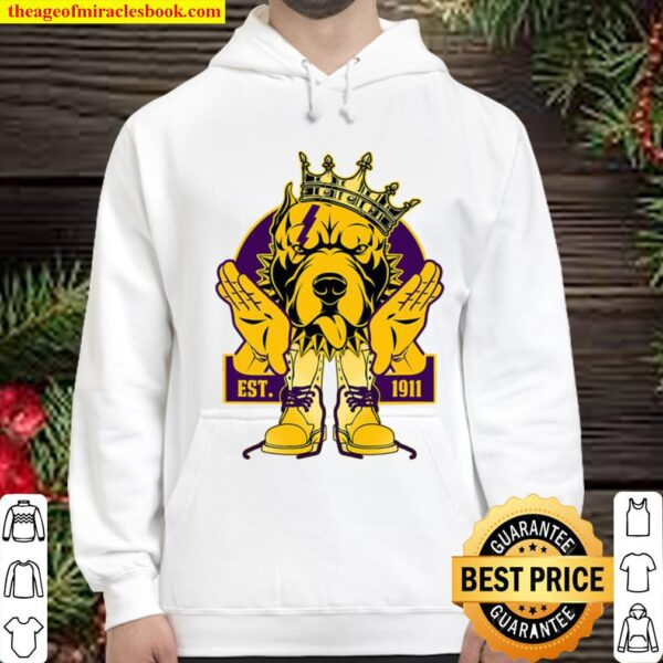Omega 1911 Bulldog Crown Psi Hand Sign Army Boots Phi Hoodie