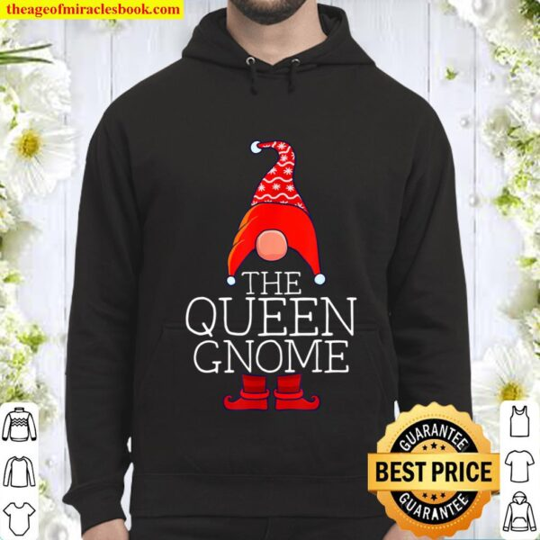 Queen Gnome Family Matching Group Christmas Outfits Pictures Hoodie