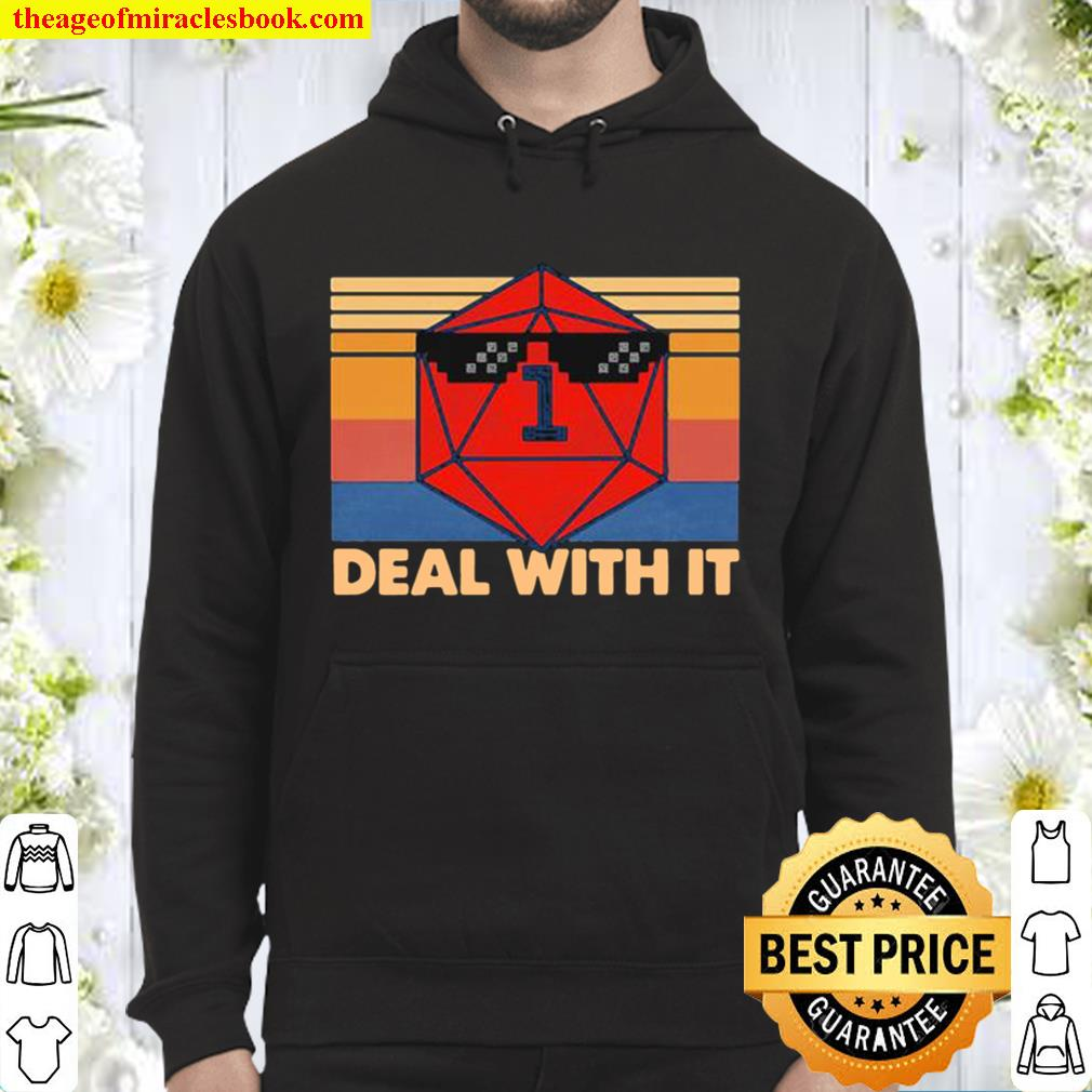 Roll game deal with it vintage retro Hoodie