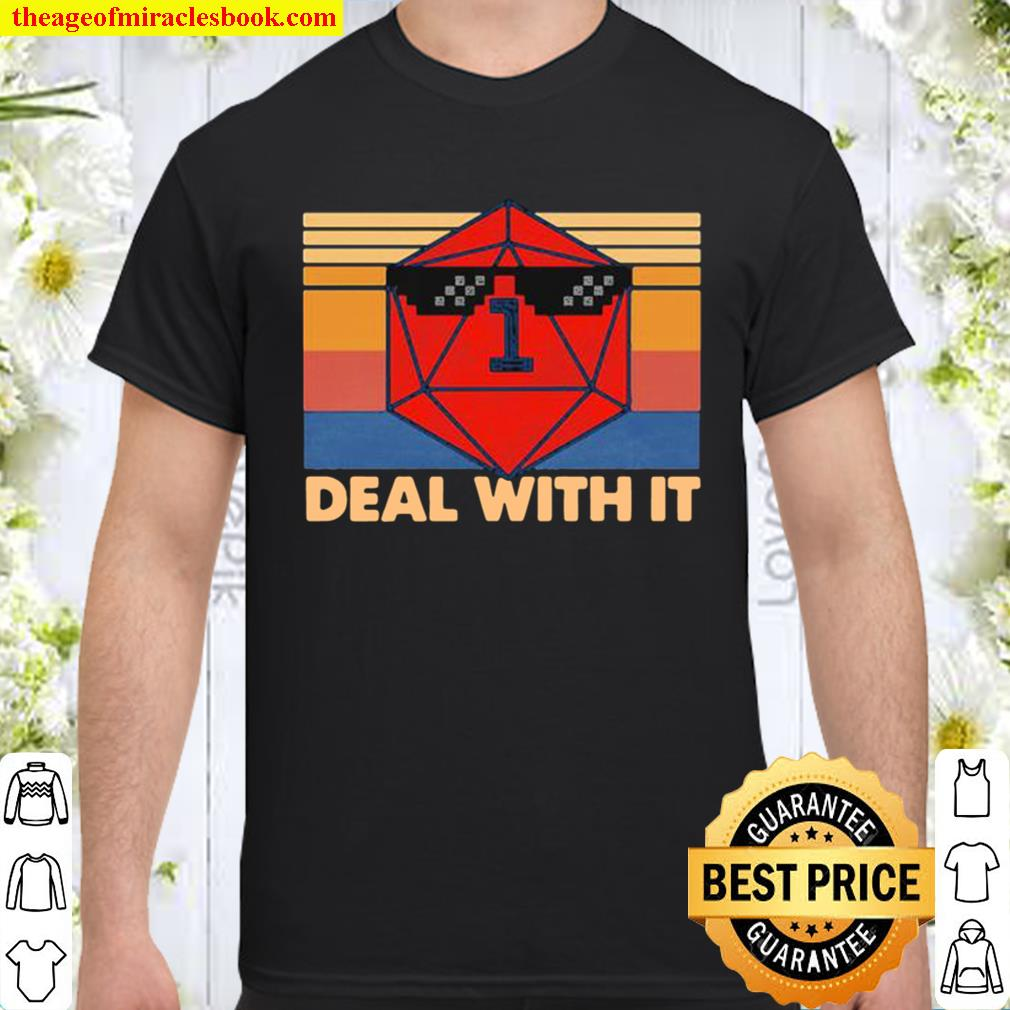 Roll game deal with it vintage retro Shirt