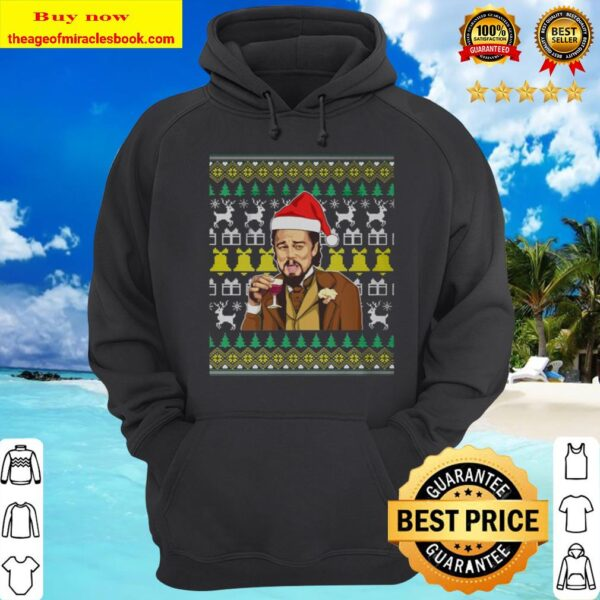 Santa Leonardo Funny Dicaprio 2020 Fucked Up Ugly Sweater Christmas Hoodie