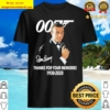 Sean Connery 007 thank you for the memories 1930 2020 Shirt