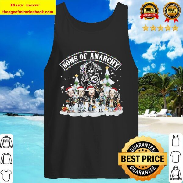 Son of anrchy Christmas Tank Top