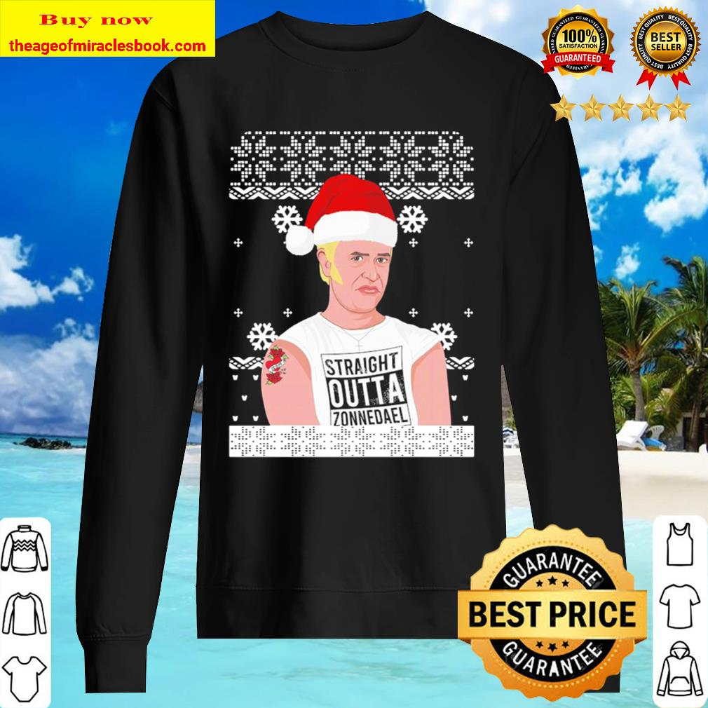 Straight Outta Zonnedael Ugly Christmas Sweater