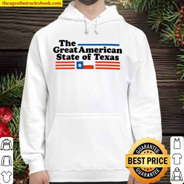 The great American State of Texas Hoodie