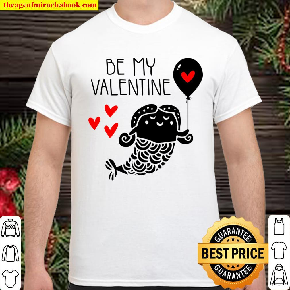 BE My Valentine Shirt, Valentines Day Shirt For Couple, Heart Shirt