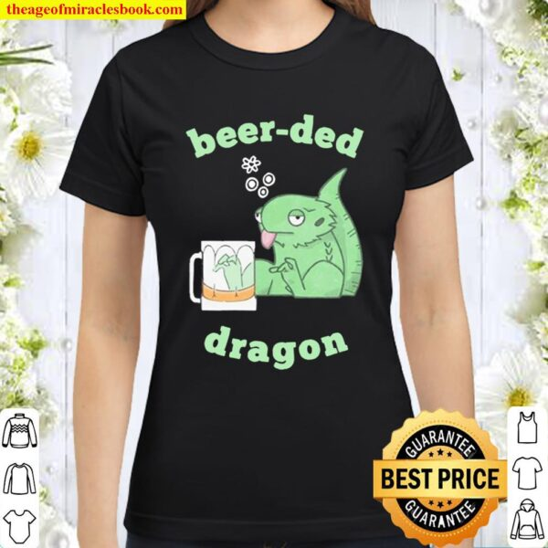 Beer-red dragon Classic Women T-Shirt