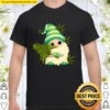 Christmas Gnome Weed Green Cannabis Gnome Xmas Lover Gift Shirt