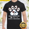 Easily Distracted By Dogs And Taekwondo Shirt