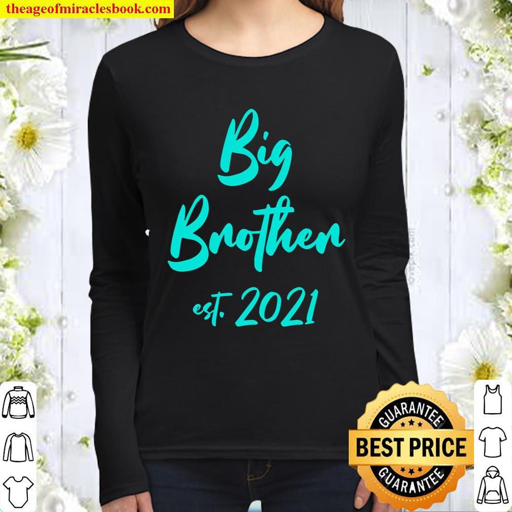 First Time Big Brother 2021 Women Long Sleeved
