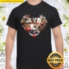 Goat Heart Funny Valentine_s Day Farmer Gifts Tee Shirt