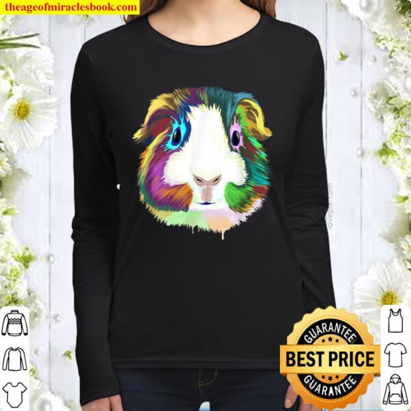 Guinea Pig Women Long Sleeved