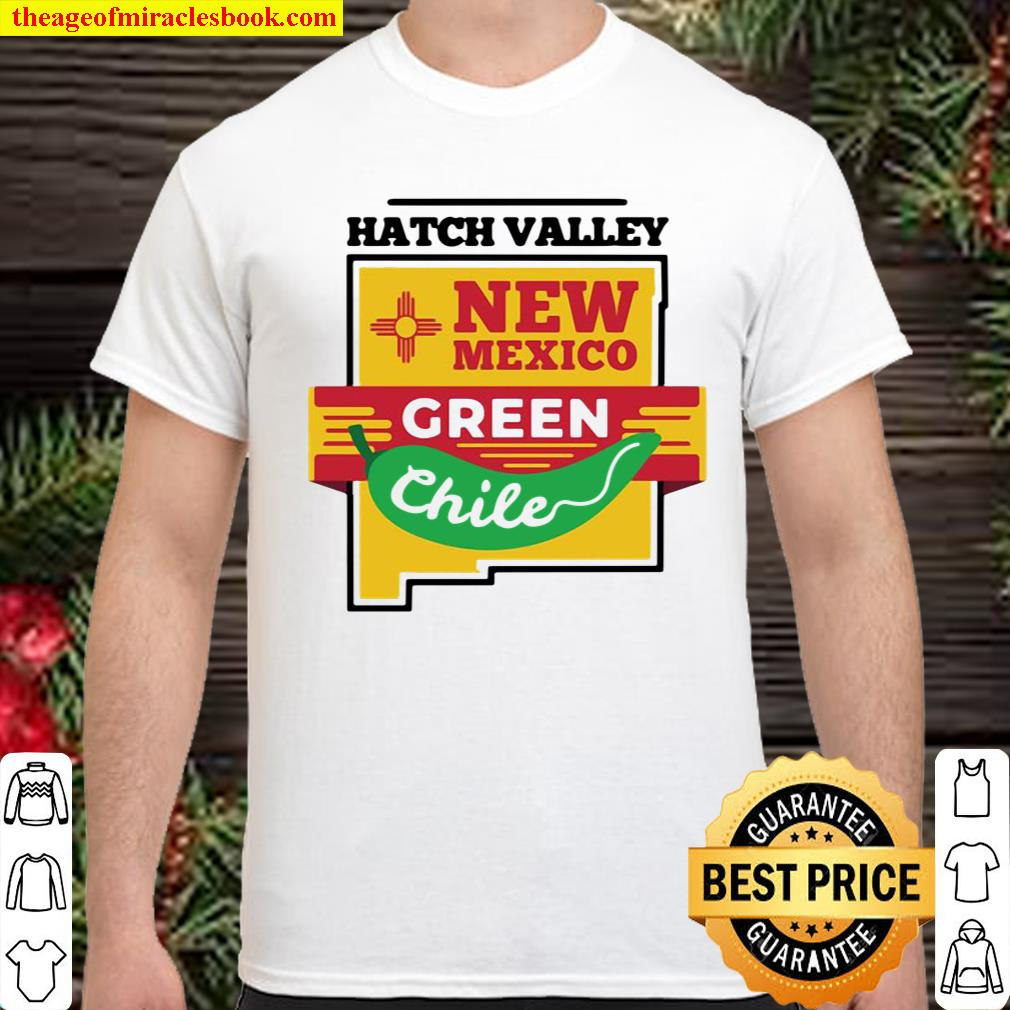 Hatch Chile Shirt New Mexico Green Chili Pepper Pullover Shirt