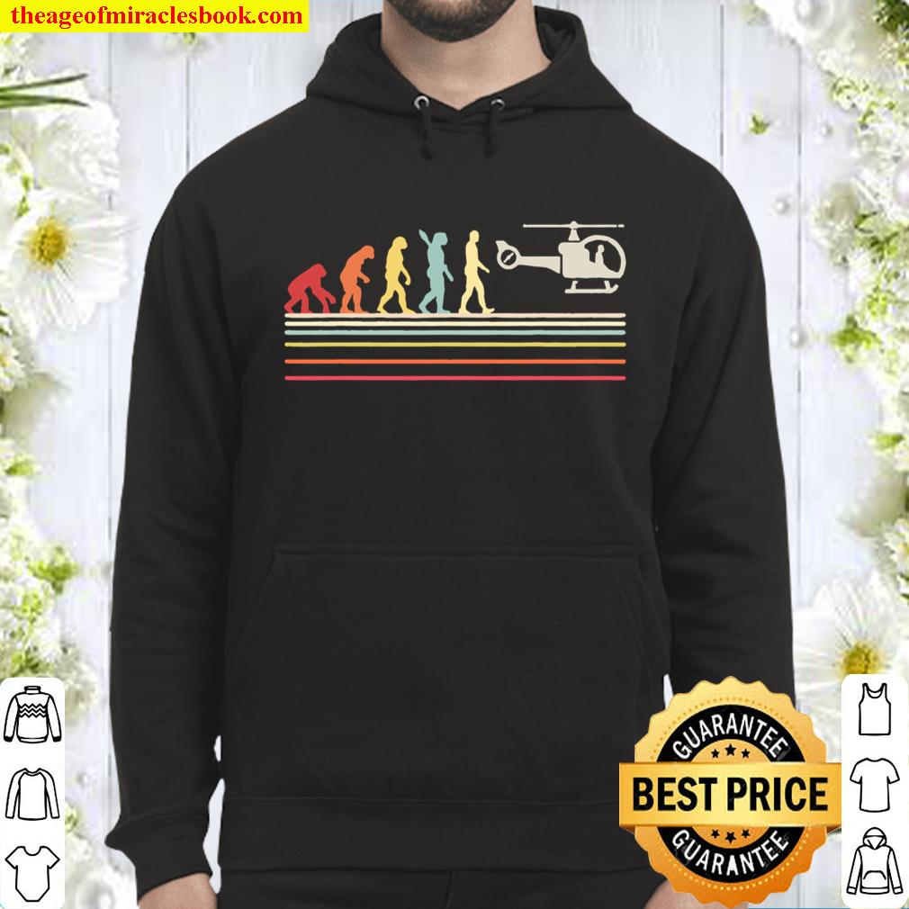 Helicopter Shirt Hoodie
