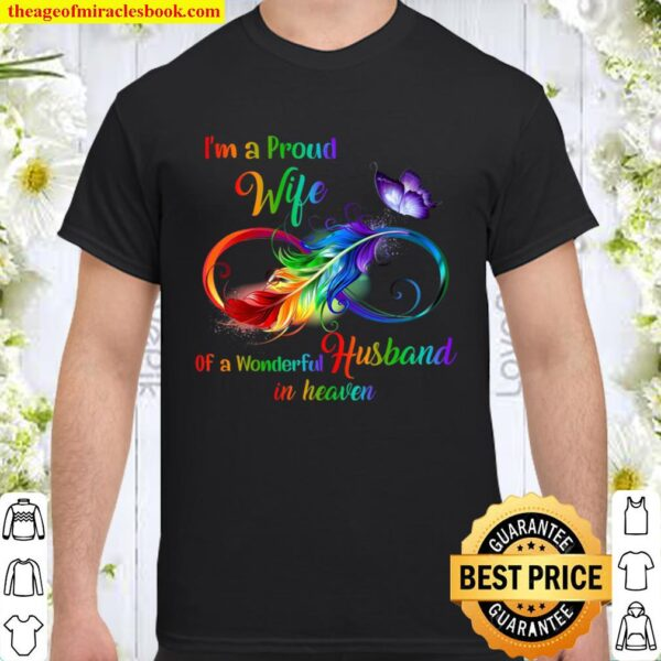 Im a proud wife of a wonderful husband Shirt