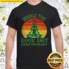 Inhale the Good Shit Exhale the Bullshit Weed Yoga Shirt