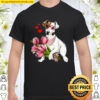 Jack Russell Funny Cute Dog Valentine Gift Heart Shirt