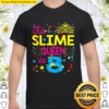 Kids This Slime Queen Is 8 8Th Birthday Gift For Girls Shirt