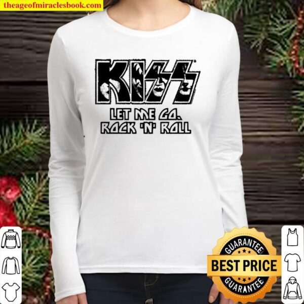 Kiss – Let Me Go Women Long Sleeved