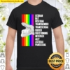 Lesbian Gay Bisexual Transgender Transsexual Queer Questioning Interse Shirt