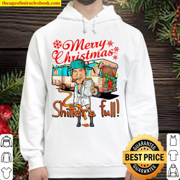 Merry Christmas Shitters Full Cousin Eddie Bus Lights Hoodie