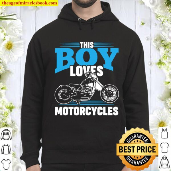 Motorcycle Shirts For Boys Motor Bike Shirt For Kids Hoodie