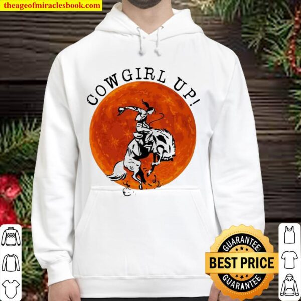 Official Cowgril Up The Moon Hoodie