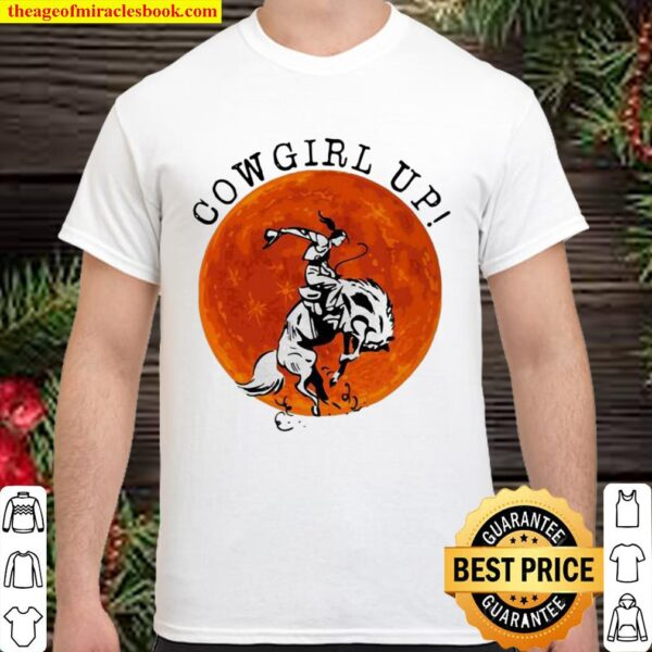 Official Cowgril Up The Moon Shirt