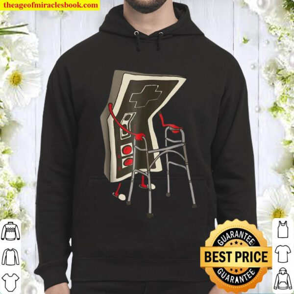 Old Gamer Retro Video Game Old Gamer Hoodie
