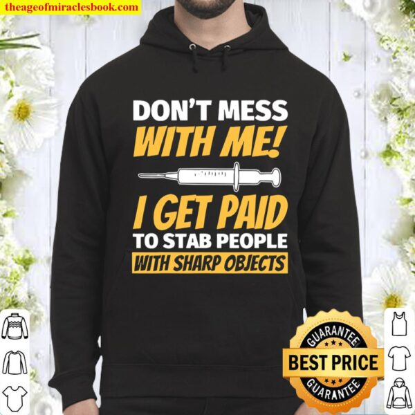 Phlebotomy For Phlebotomist Funny Hoodie