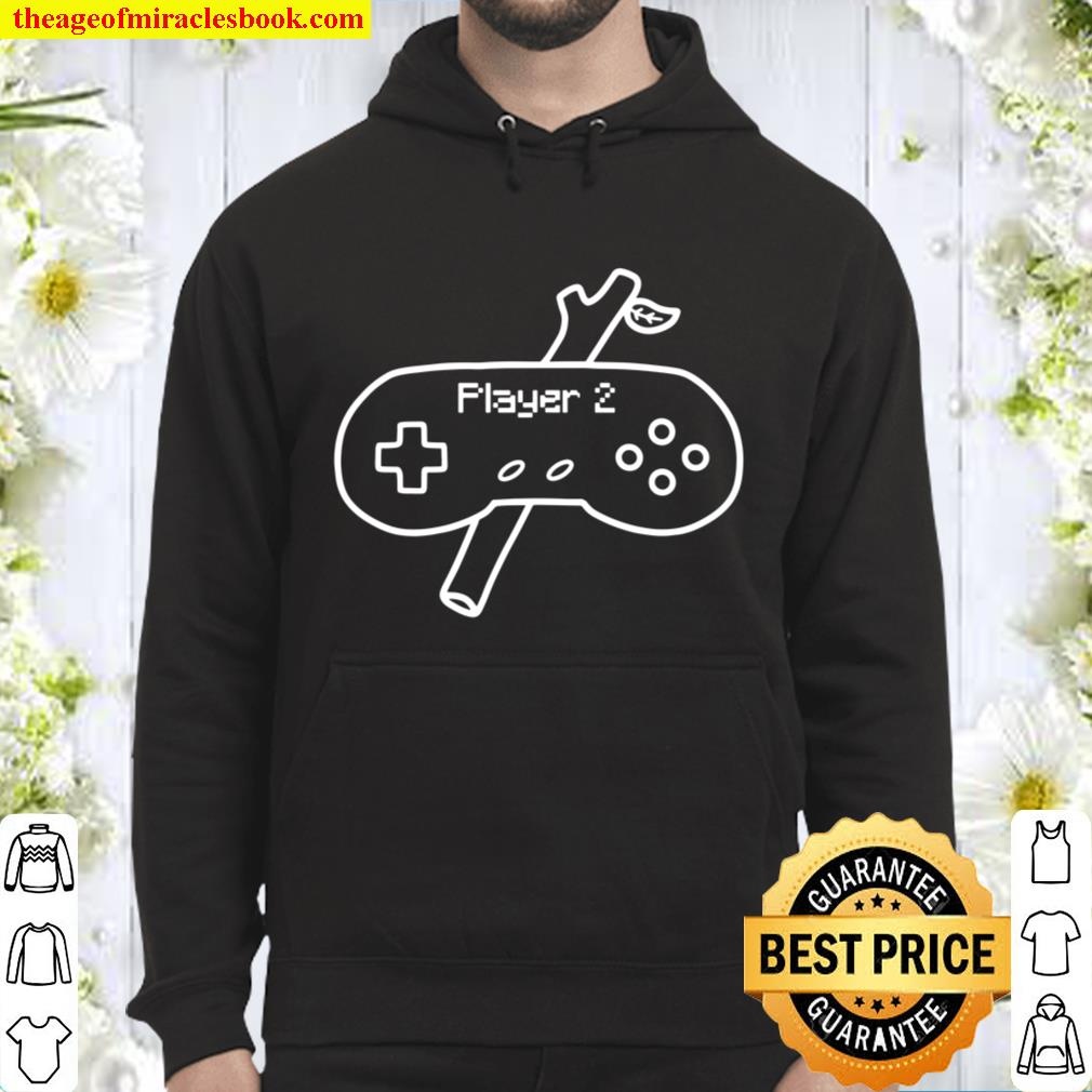 Player 2 Game Controller with Branch Stick Matching Hoodie