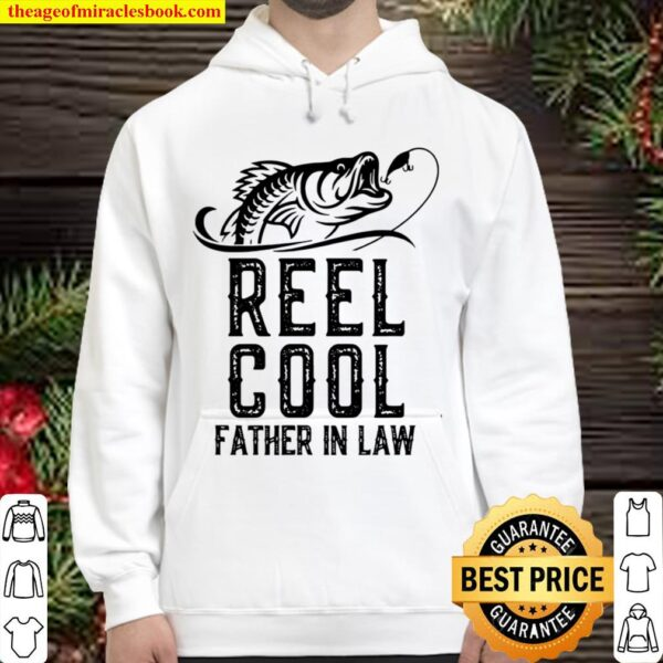 Reel Cool Father In Law Fishing Hoodie