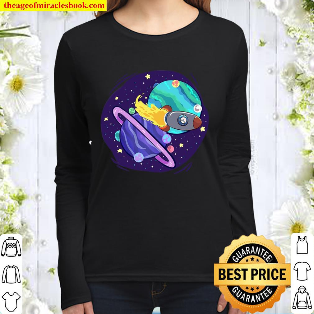 The Great Conjunction (Jupiter And Saturn) Women Long Sleeved
