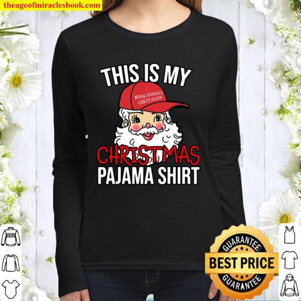 This Is My Christmas Pajama Women Long Sleeved