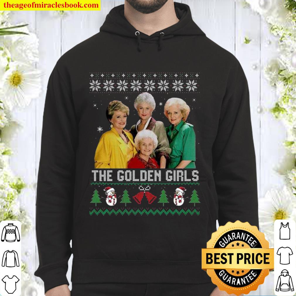 Top The Golden Girls Ugly Merry Christmas Hoodie